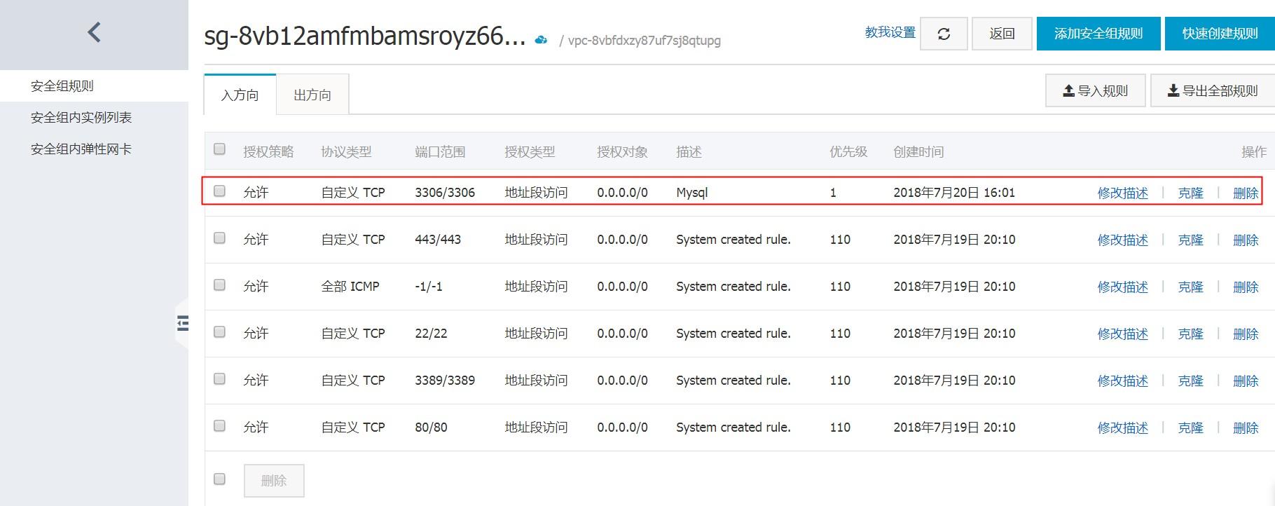 ECS_MySQL